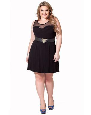 Vestido-preto-plus-size-tule-com-bordado-em-pedraria_1