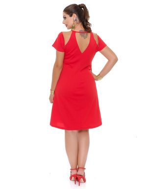 Vestido-vermelho-detalhe-tule-manga-curta-Domenica-Solazzo-7