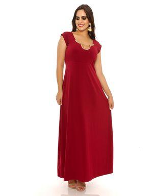Vestido-longo-vermelho-com-strass-Domenca-Solazzo-1