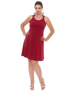Vestido-curto-vermelho-com-alca-de-guipir-Domenica-Solazzo-2