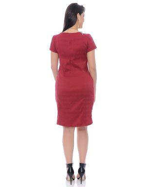 Vestido-tubinho-bengaline-manga-curta-7