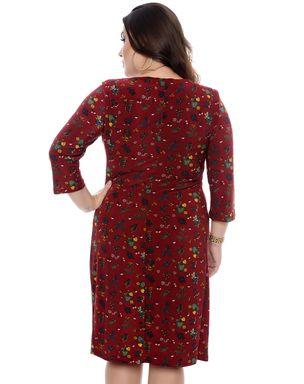 Vestido-Drapeado-Feminino-Plus-1-Size