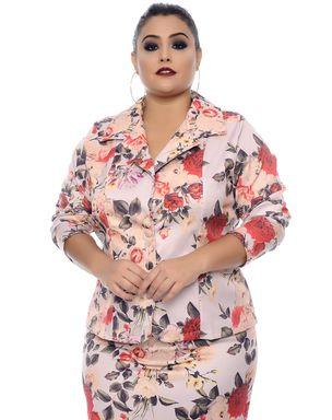 Blazer-Floral-Dilma-Plus-Size