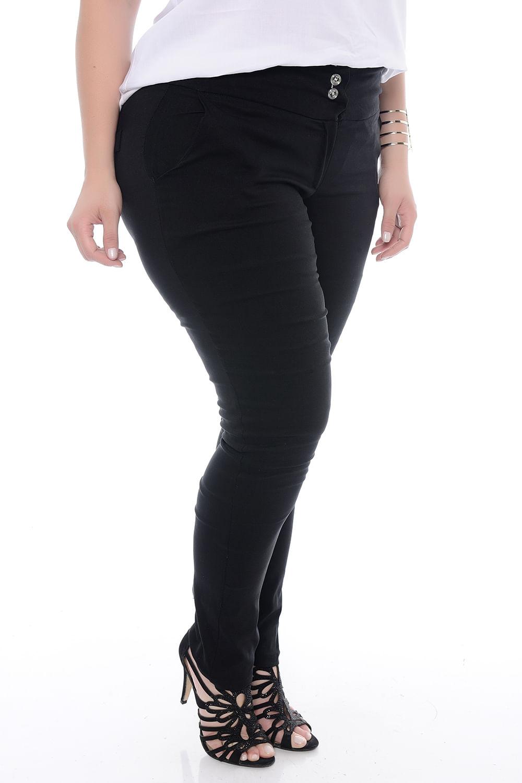 6fde226e1 Calça Skinny Bengaline Plus Size - Chic e Elegante