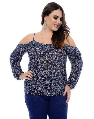 Blusa-Flores-Plus-Size