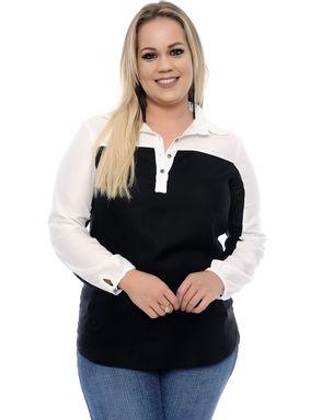 Camisa-Feminina-Bicolor-Plus-Size-3306