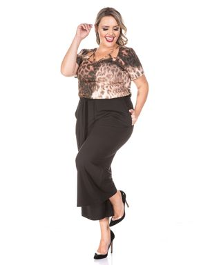 1a114abe47 Calça Pantacourt Black Plus Size