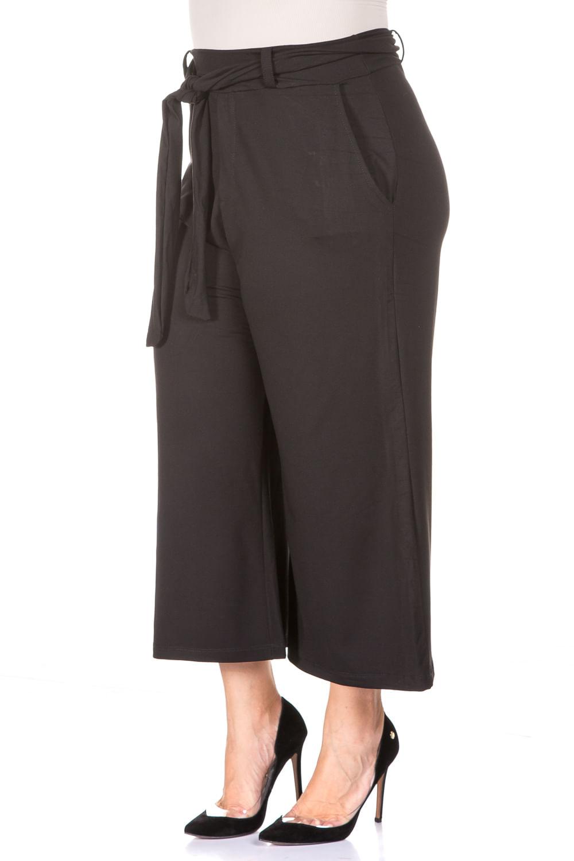 0877c3c53 Calça Pantacourt Black Plus Size - Chic e Elegante