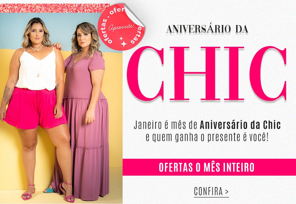 Banner Aniversário Chic Mobile