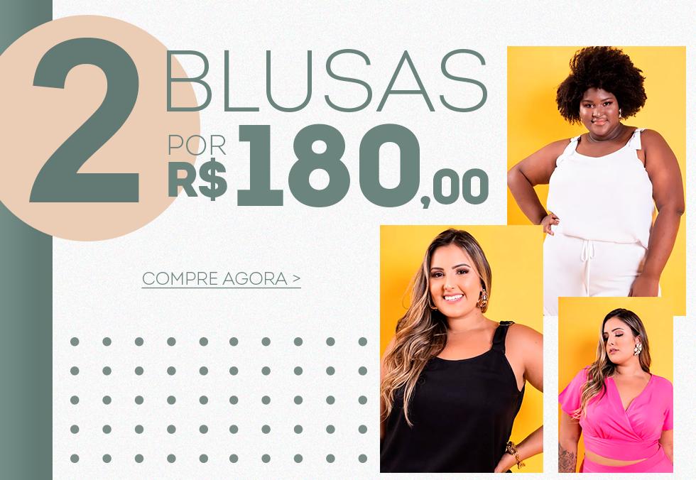 Banner 2 Blusas por R$180 Mobile