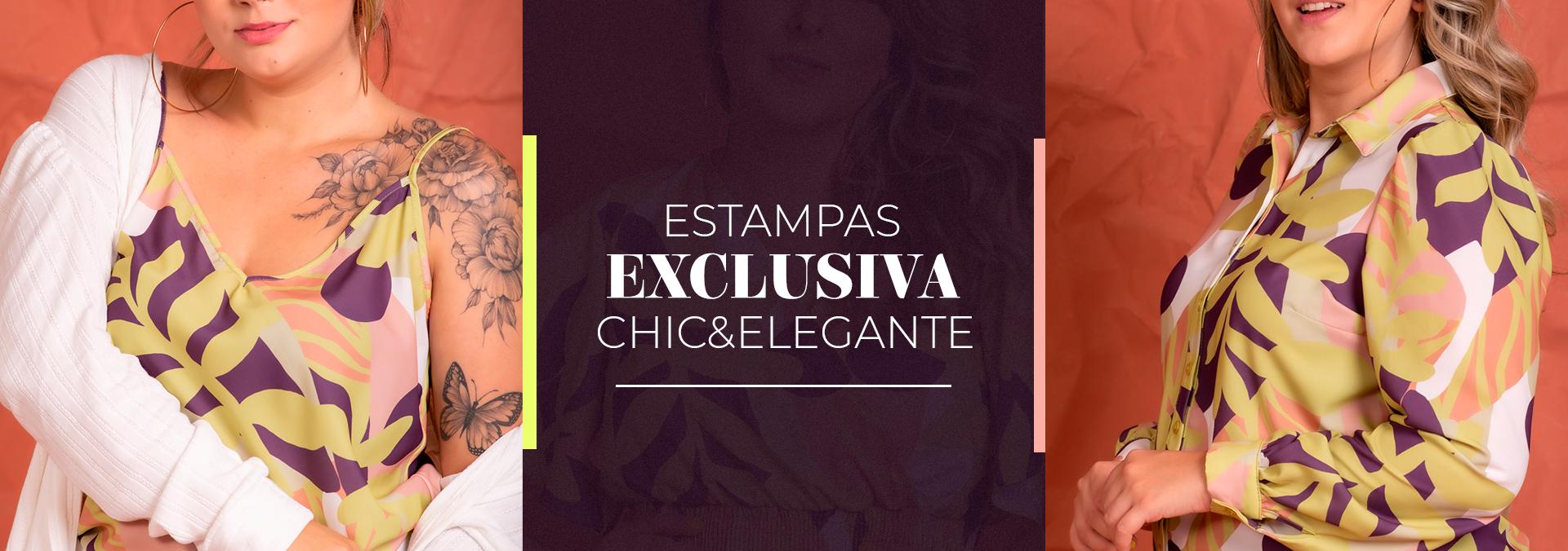 Banner Estampa Exclusiva