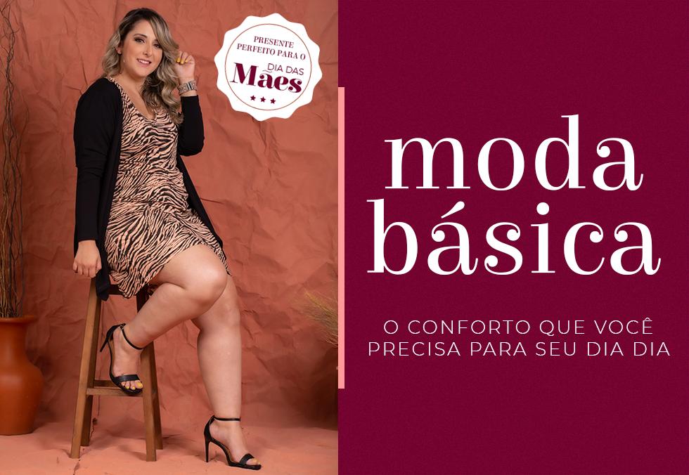 Banner Moda Básica Móbile