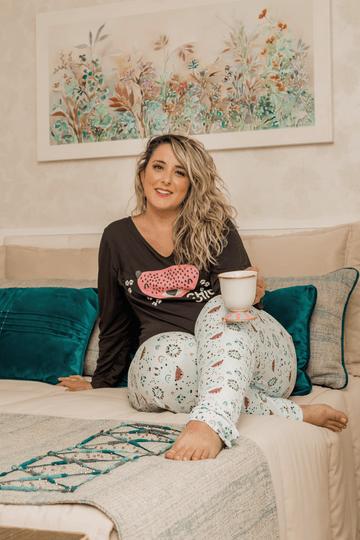 pijama-onca-verde-plus-size